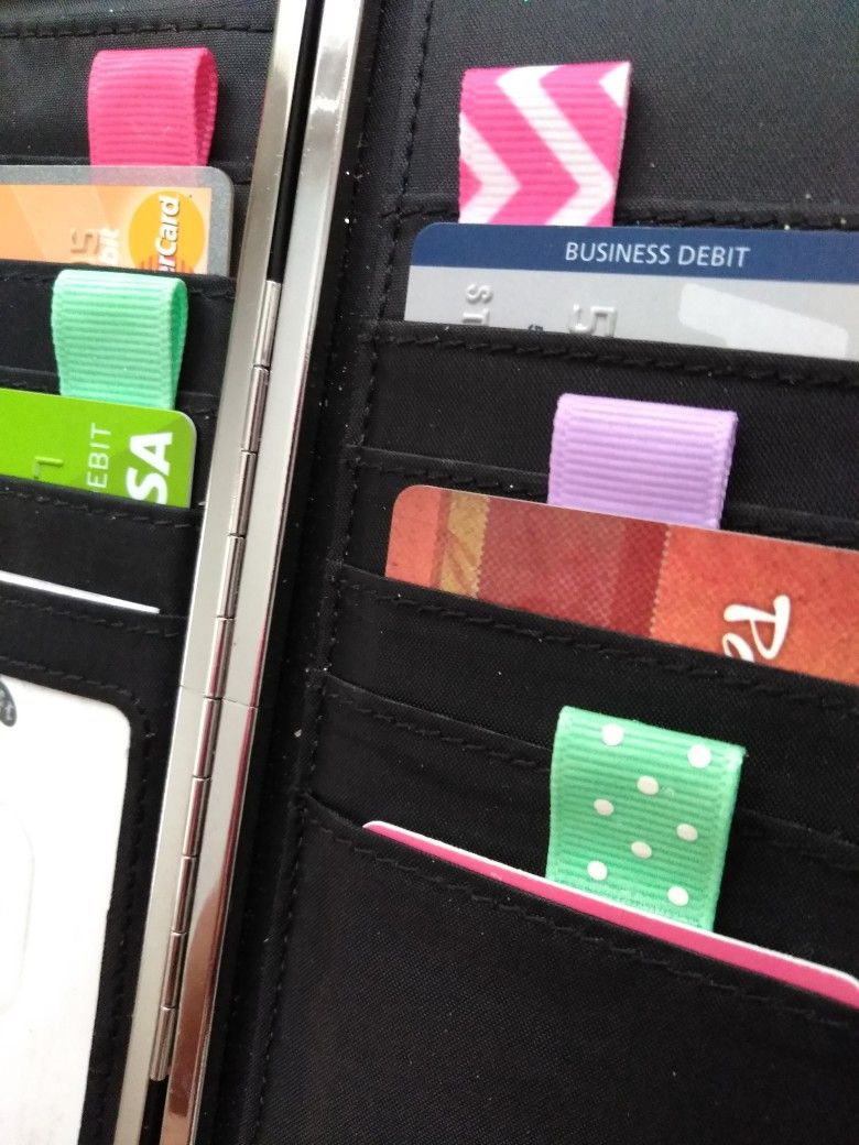 Wallet Card Pull Tags Ezidtags Com Pull Tab Wallet Credit Card