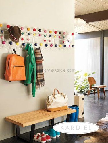 Kardiel Eames Style Hang It All Coat Wall Hanger - In the mid