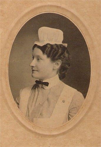 Lena, 1907 graduate, nursing school, and my maternal grandmother.
