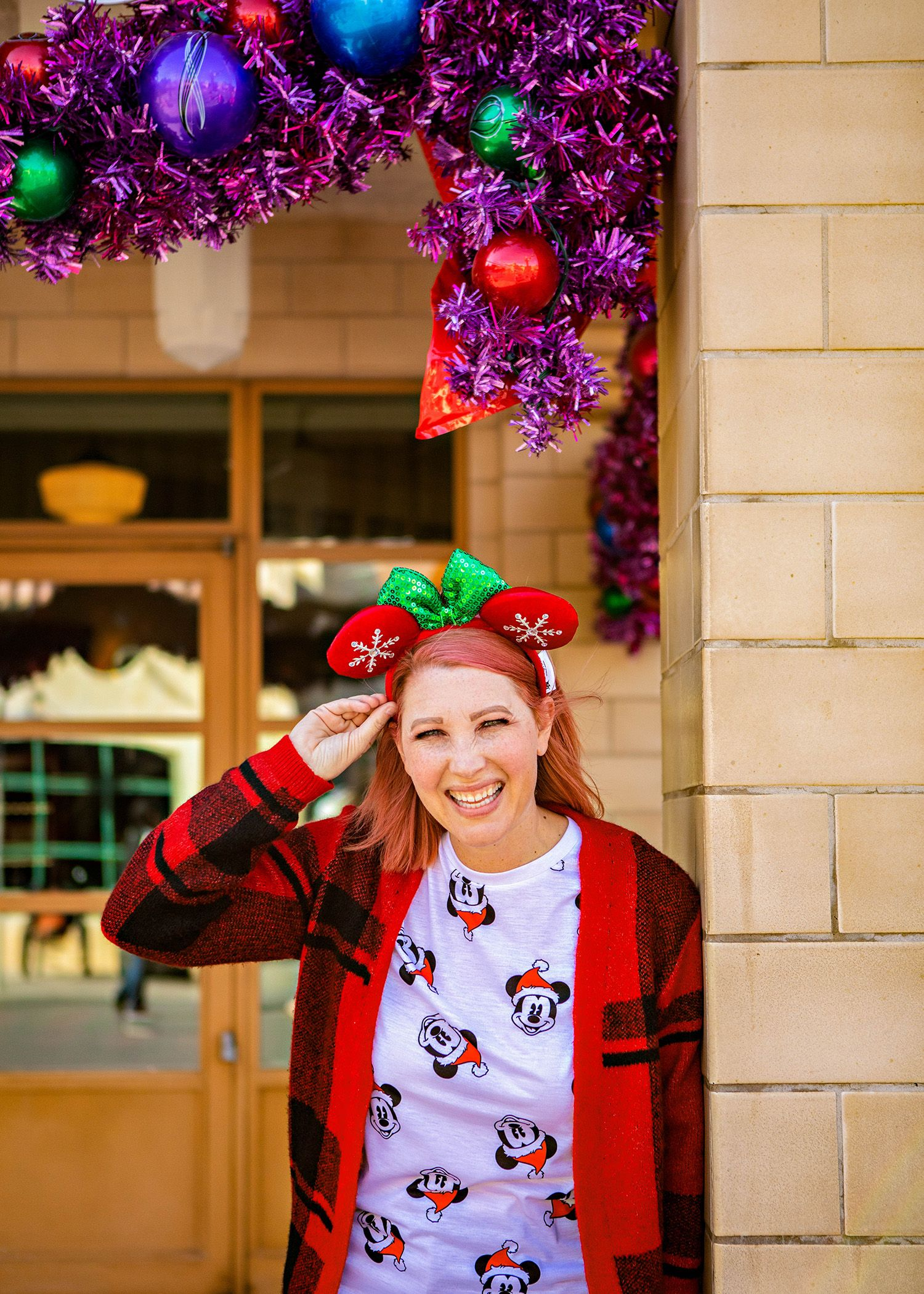 c507de04aed0 Looking for fun Disneyland outfits  This Mickey Christmas Tee is PERFECT  for Disneyland Christmas trips!  disneyland  disneystyle