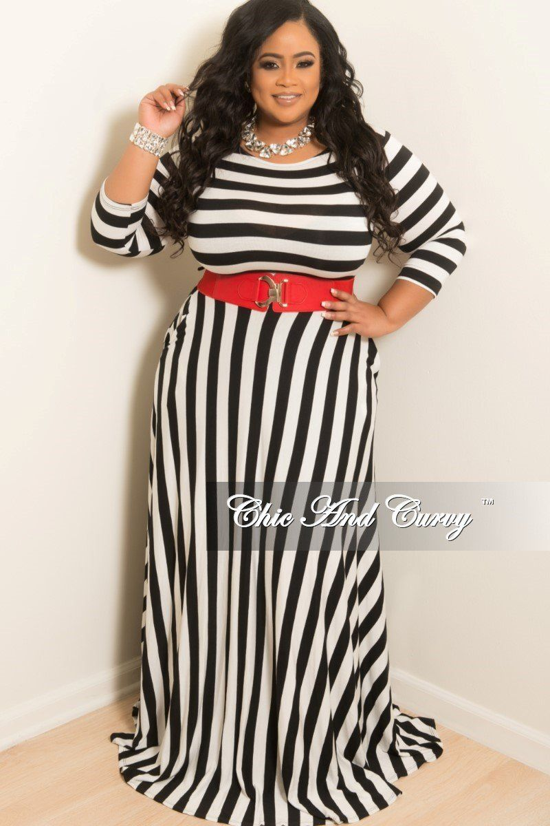 New plus size long sleeve dress w matching tie in thick black and