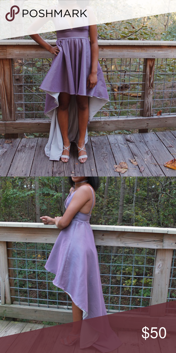 28da3293f ... Dress Pretty lavender high-low dress Super cute for formal occasions  size small price $50 but negotiable! only worn ONCE — still has tags!  Dresses Prom