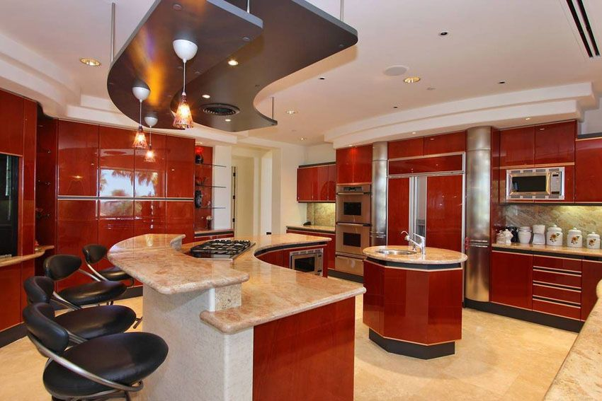 Best 25 Cherry Wood Kitchens Cabinet Designs Ideas Luxury 640 x 480