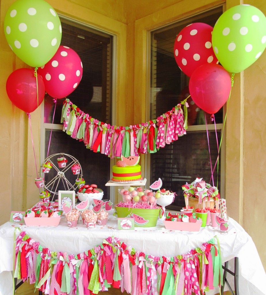 Girls Party Ideas 44 Birthday Parties Pinterest Sweet girls
