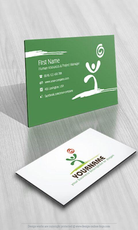 Kostenlose Online Visitenkarte Design Und Download Auch Die