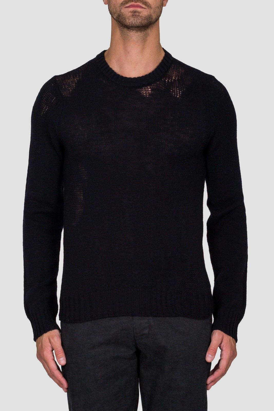 DISTRESSED KNIT JUMPER | Dope Factory