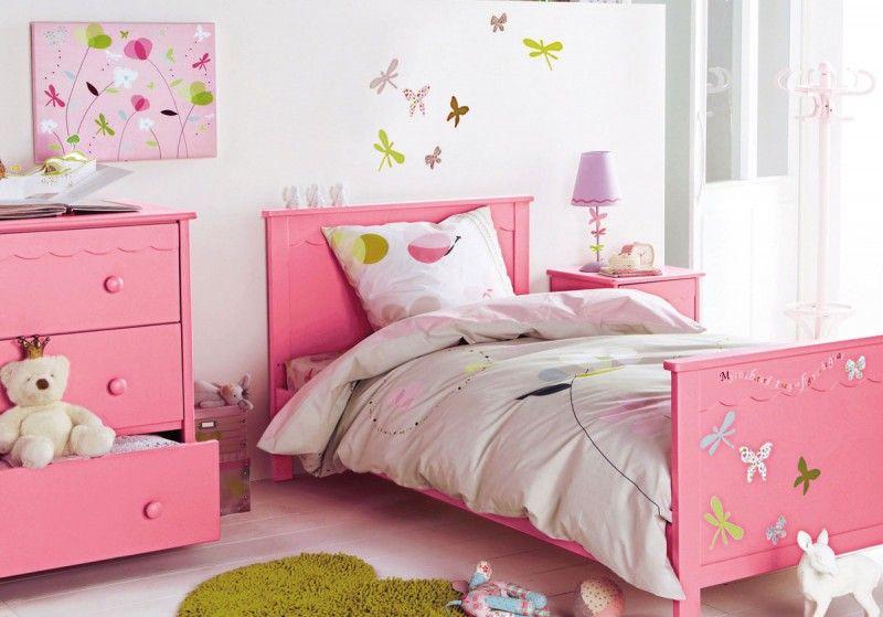 Beautiful Pink White Girls Room Decor -   wwwnapleswebdesign