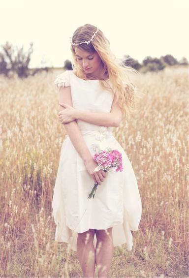 Mariage: une robe romantique sur mesure