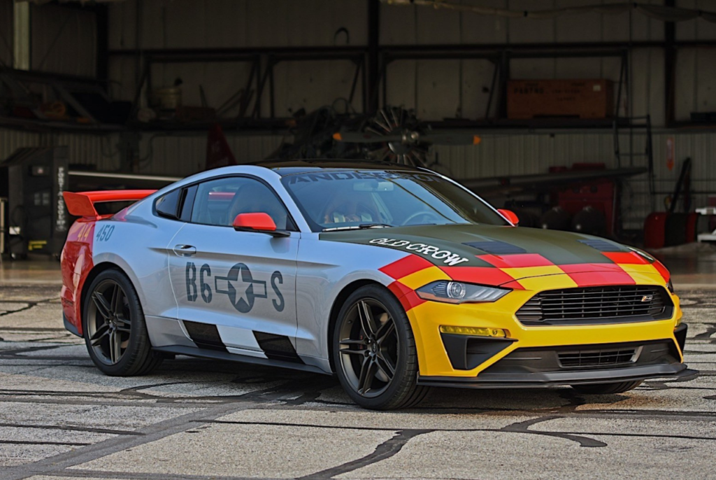 2019 Ford X Roush Performance Mustang Gt Old Crow Goes Up For