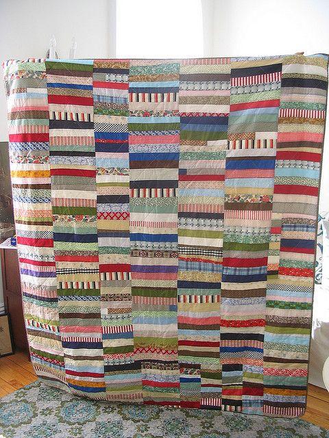 masculine quilt