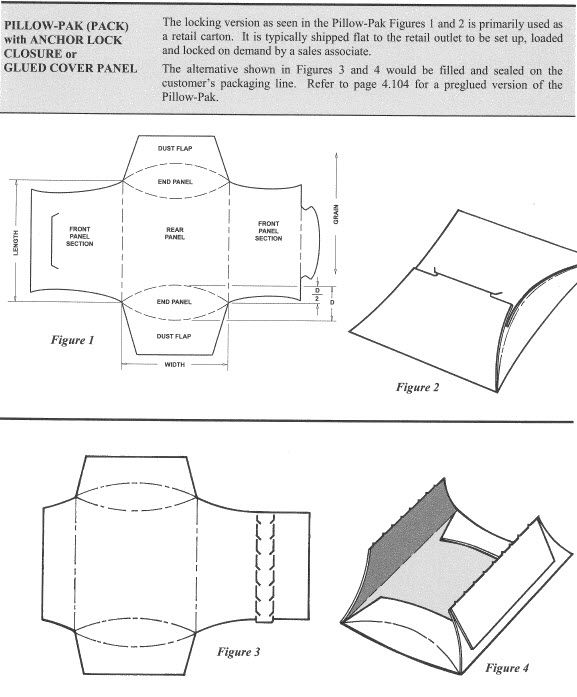 Pillow-Pak with Anchor Lock Closure box templates Pinterest - project closure template