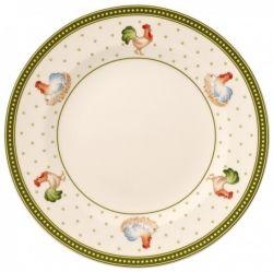 Villeroy & Boch - raňajkový tanier kohút a sliepka 21,5 cm - Farmers Spring