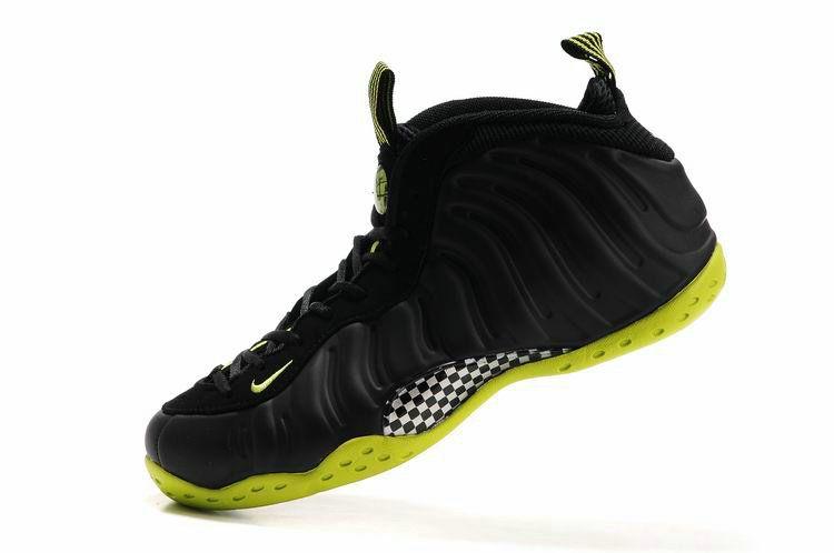 ba28494806877 Nike Air Foamposite One Black Black Bright Cactus 314996 003 ...