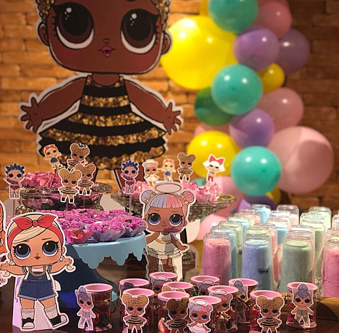 LOL Surprise Dolls Birthday Party