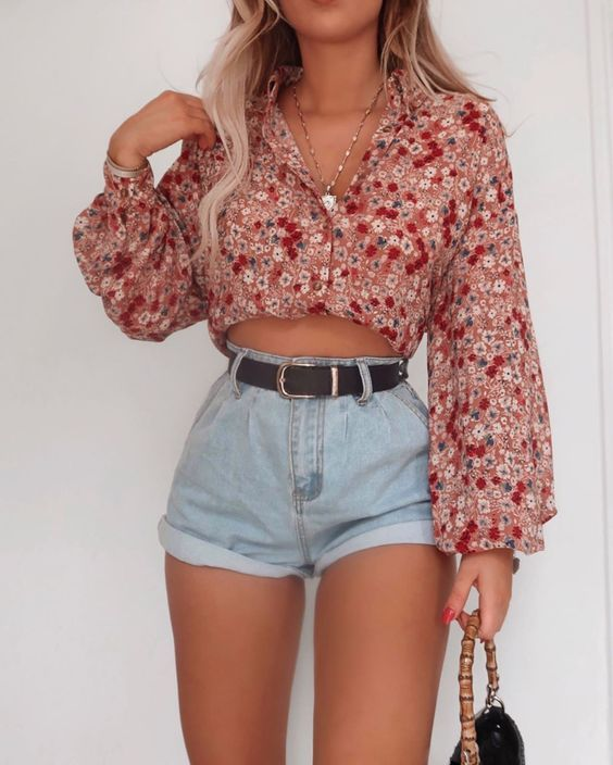 10 tenues sexy avec des shorts parfaits pour l'été   – Outfits
