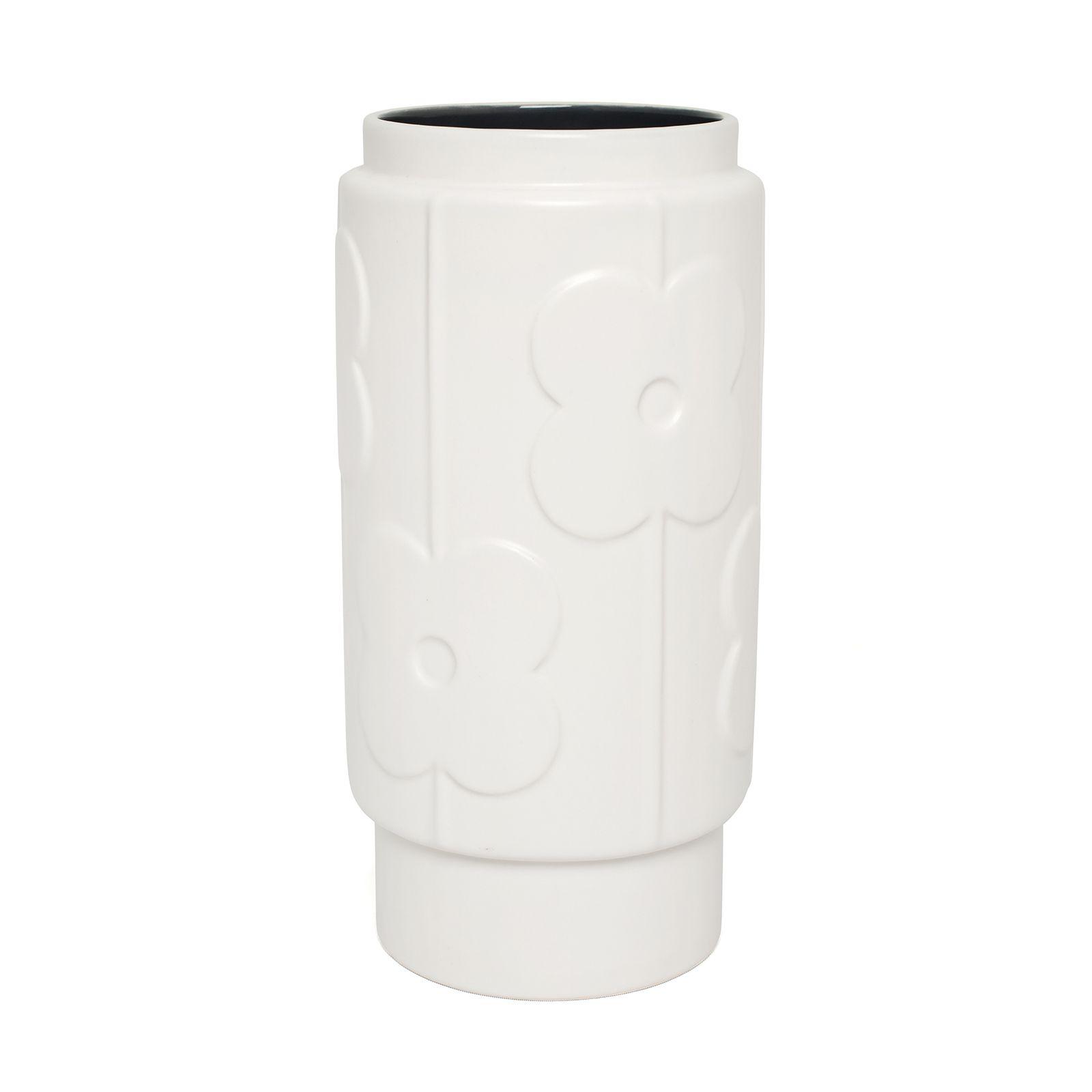 Orla kiely large vase with raised abacus flower design gloss orla kiely large vase with raised abacus flower design gloss finish and interior colour reviewsmspy