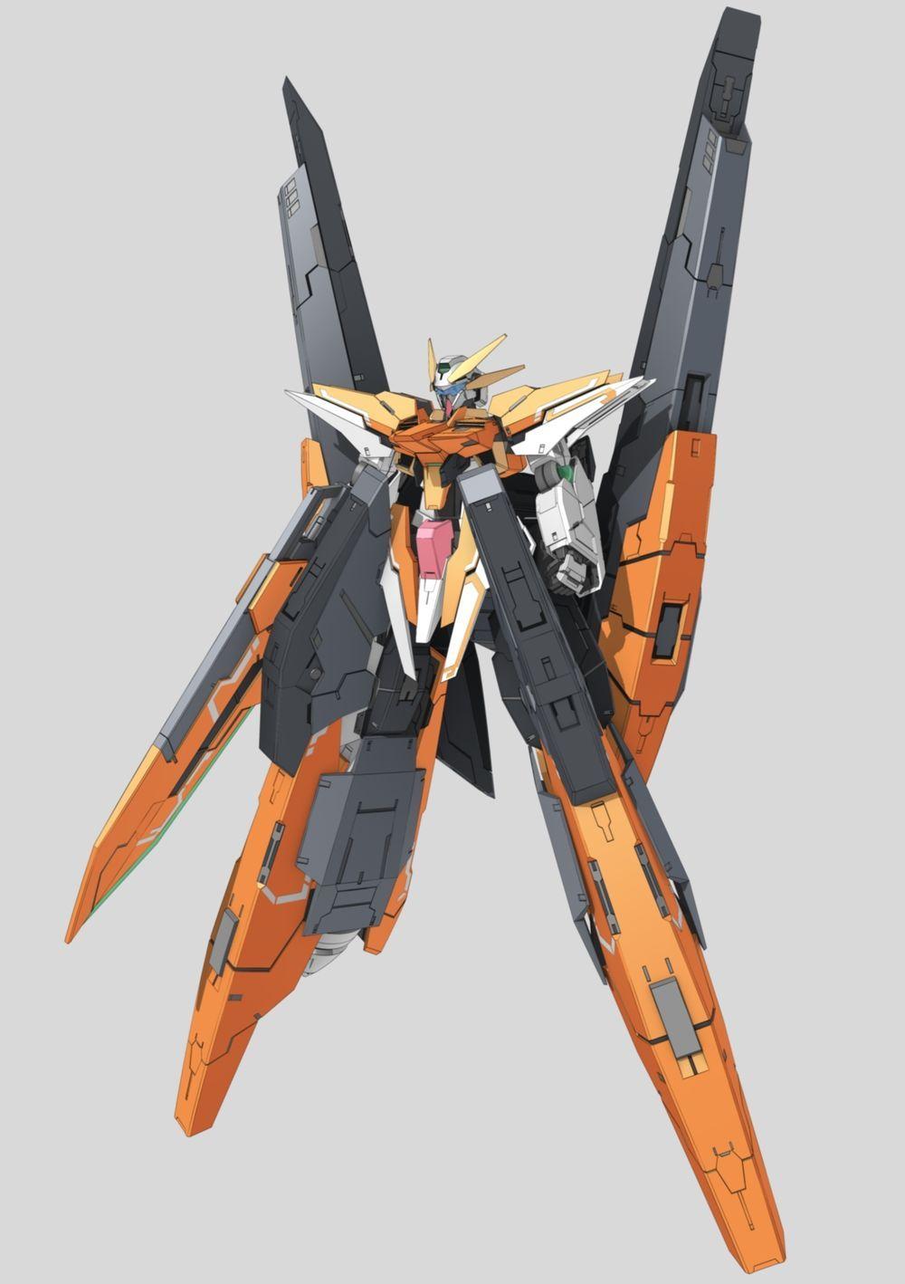 GN-011 Gundam Harute | Gundam and Bots Galore | Gundam, Gundam 00