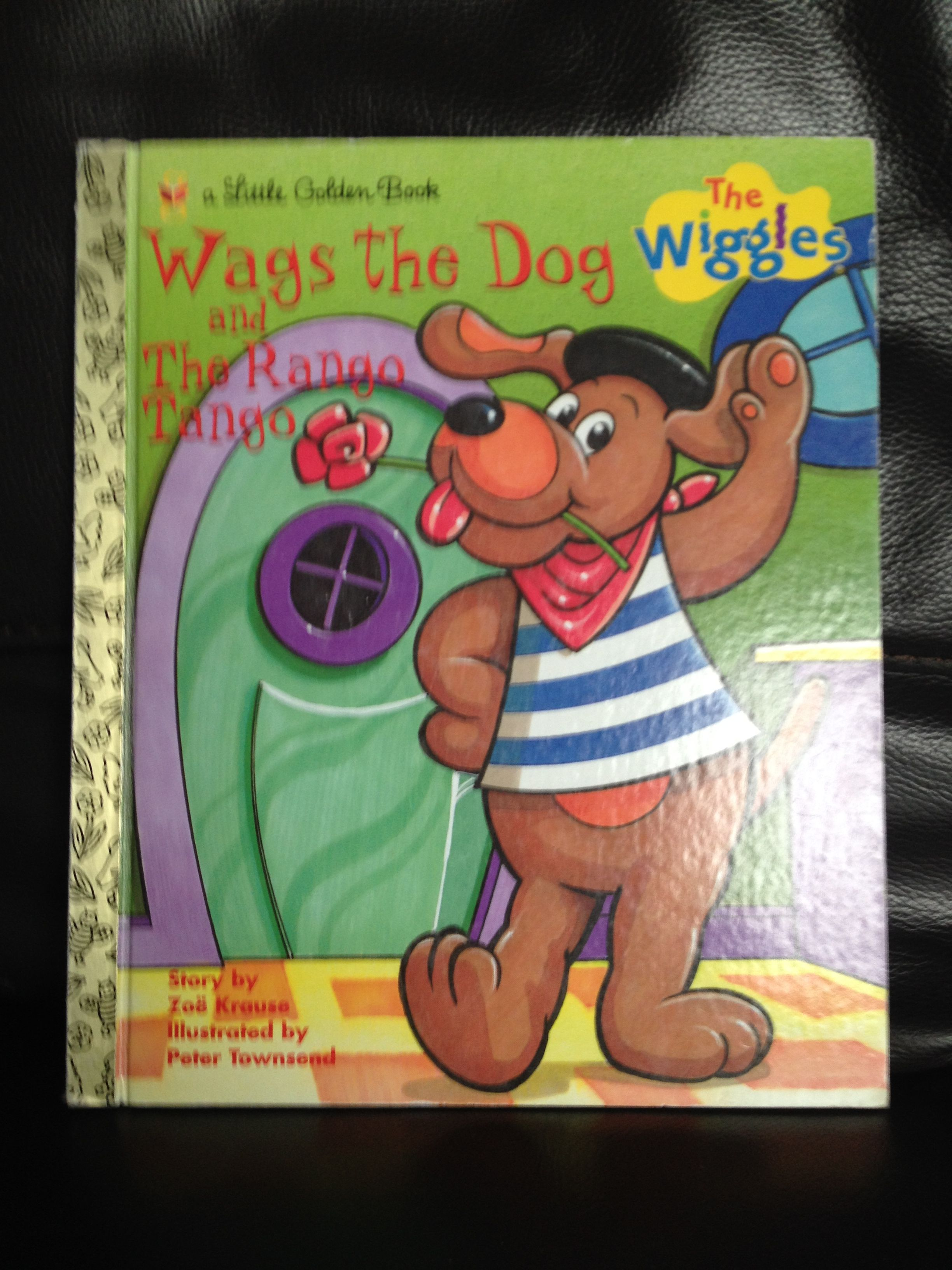 wags the dog the wiggles w little golden books wags the dog the wiggles