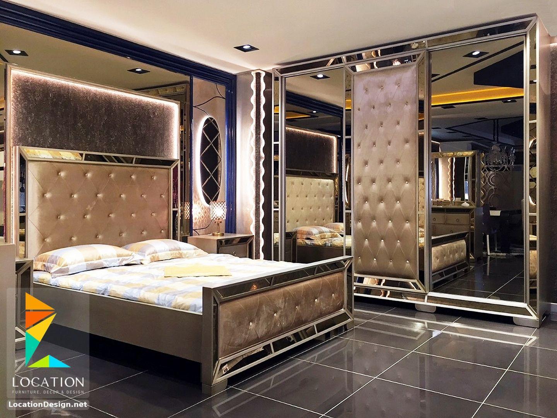 غرف نوم كامله من اجمل موديلات غرف نوم عرايس مودرن 2019 Bedroom Closet Design Luxury Bedroom Design Bedroom Bed Design