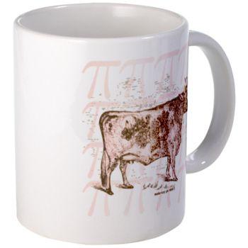 Pi Day Cow Pie Mug... I need this