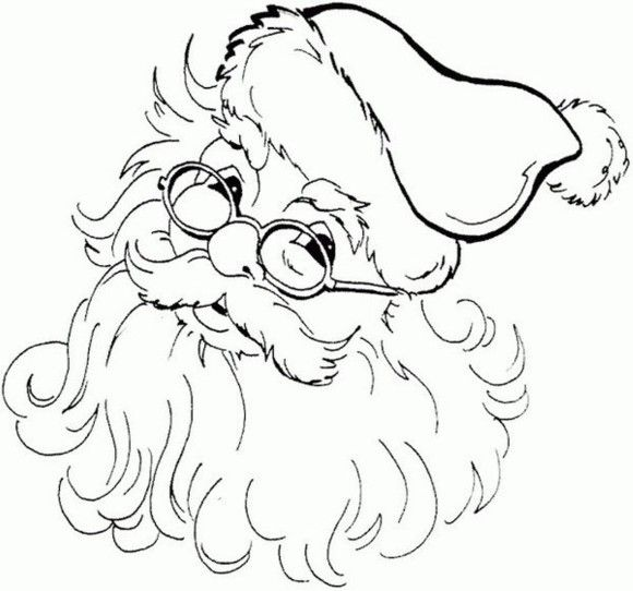 Coloring Pages Of Santa Claus Printable   Christmas Coloring pages ...