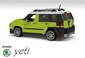 Skoda Yeti Lego Voiture