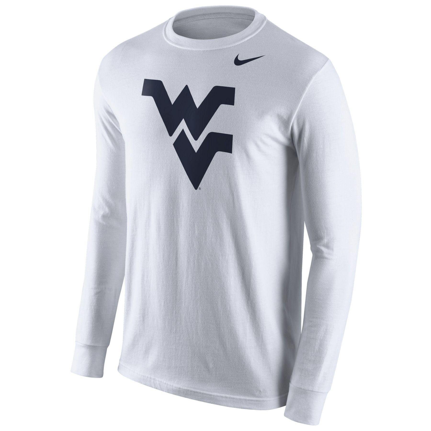 Nike WV Logo White Long Sleeve Tee