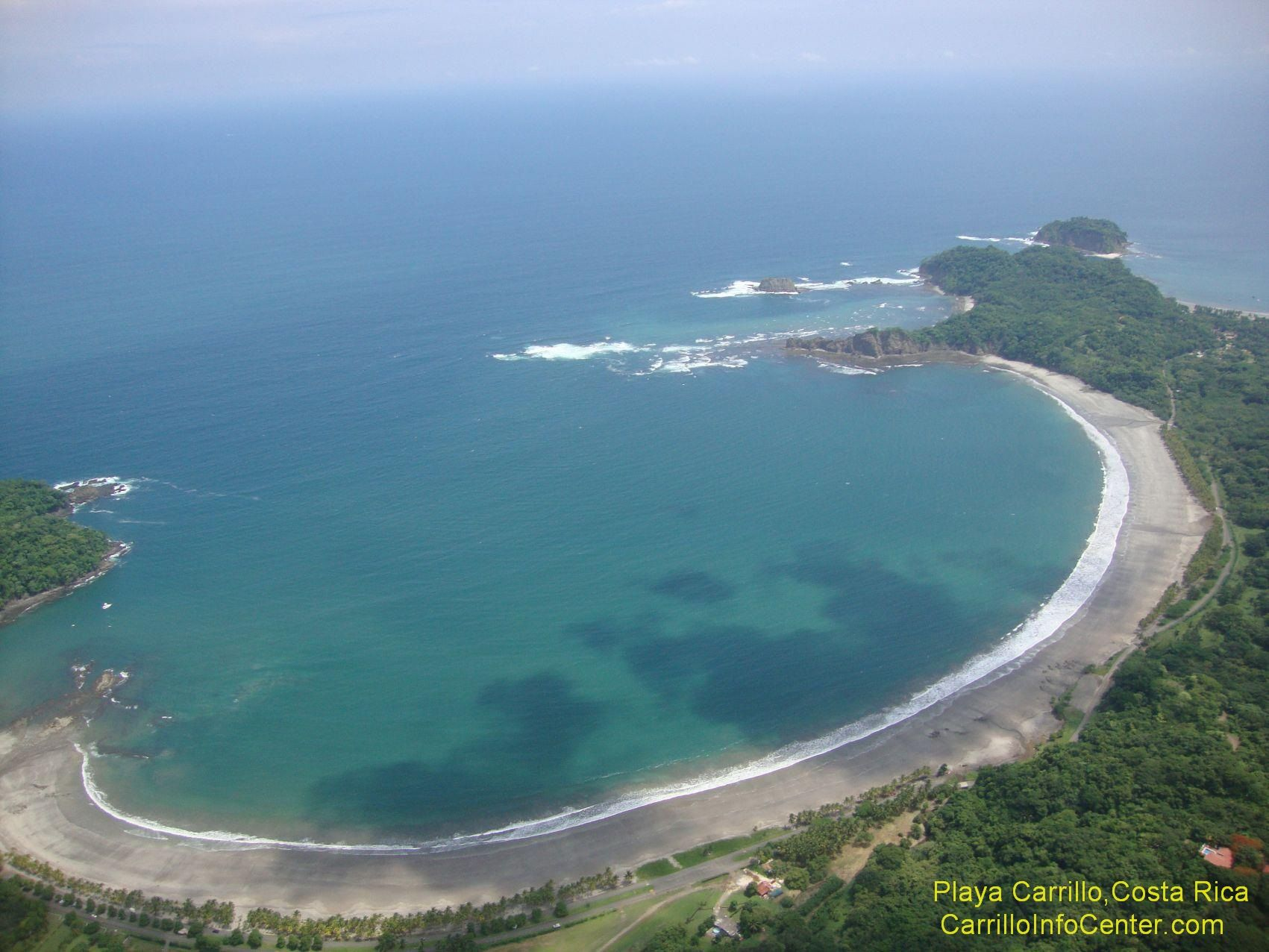 The Bay Of Carrillo From Air Perfect Beach For Your Holidays We Can Help You With Questions And Plans