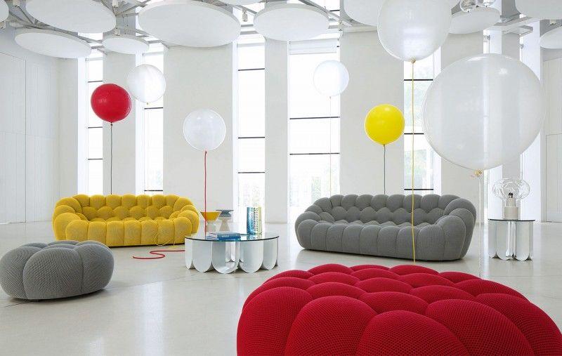 Canapés Sofas Et Divans Modernes Roche Bobois Salons - Canape tres design