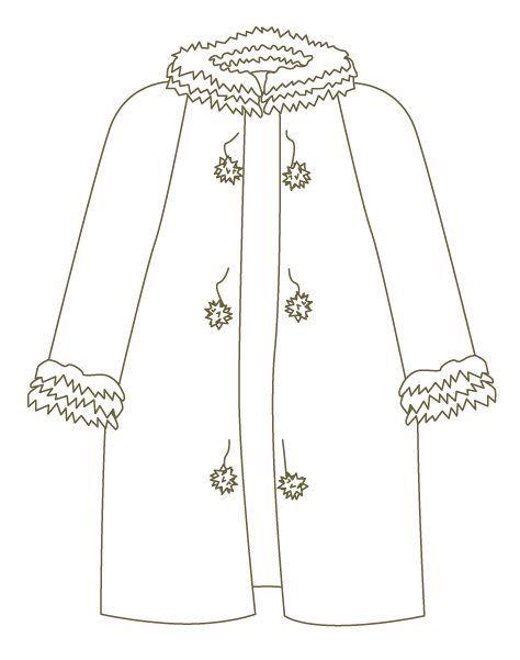 Dibujos de ropa para colorear | ORTHOPHONIE BOUCHRA | Pinterest ...