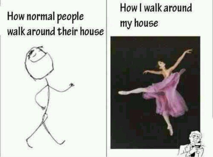 So totally me