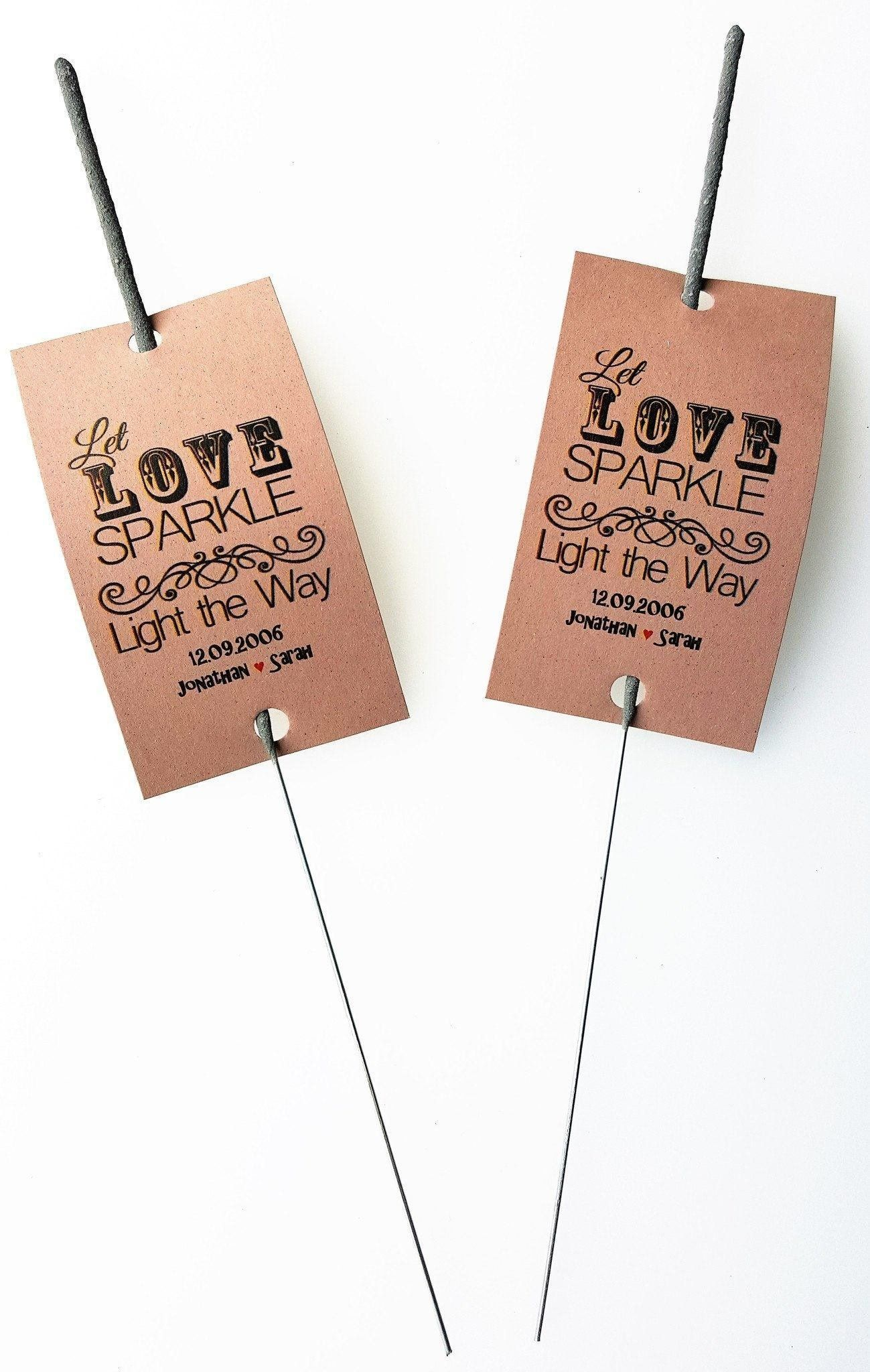 Sparkler Tags - Pack Of 150 - 18 Inch Cheap Wedding Favours Sparkler ...