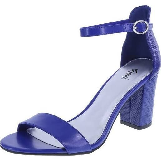 Fioni Women's Ivy City Sandal Blue Size 8.0, Width Regular