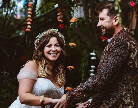Charlotte Church Marries Johnny Powell In Secret Rustic Wedding