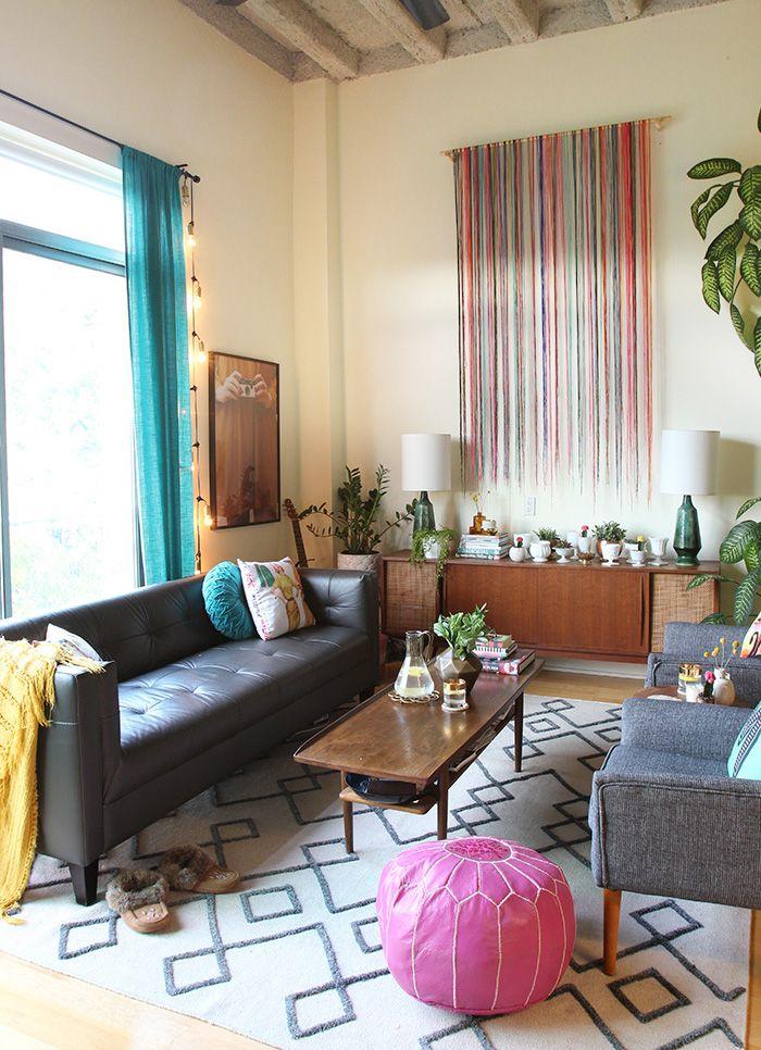 Loft Living Room Makeoverthe Sweet Escapeloft Living Room Adorable Living Room Makeover Inspiration Design
