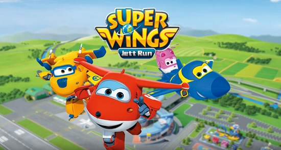 Super Wings Jett Run Mod Apk V2 2 Unlimited Money Android Animasi Android Minion