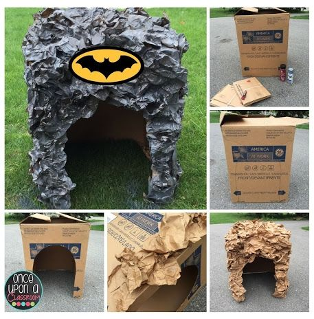 Batman & Justice League - Superhero Crafts #superherocrafts