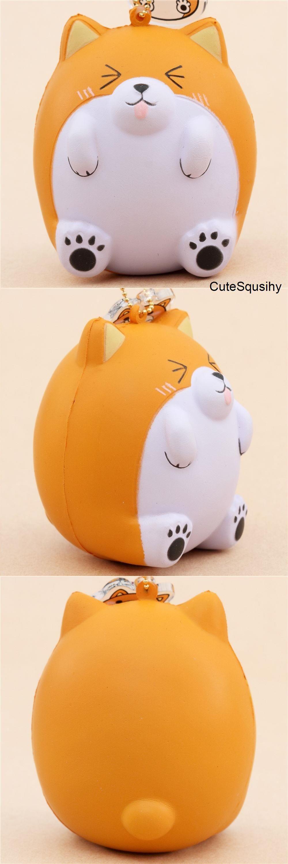squishy cagnolino arancione paw paw puppy pat pat zoo