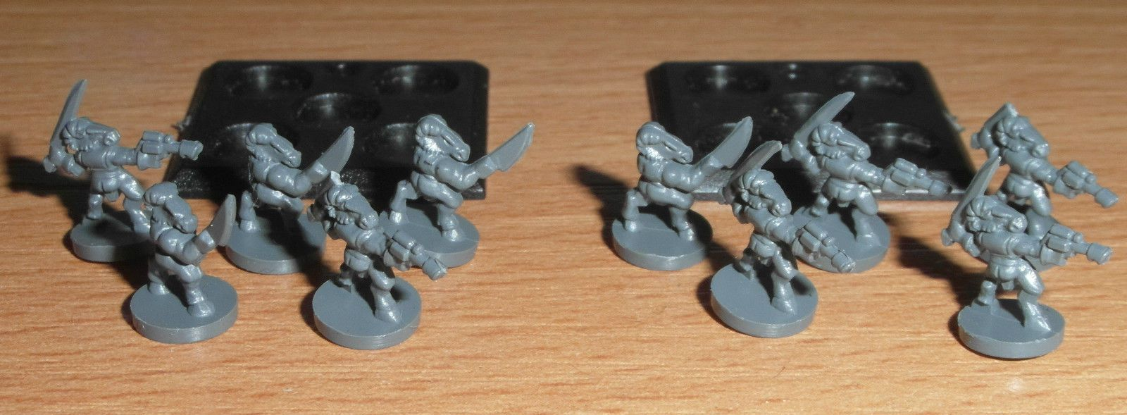 Epic 40k Chaos or Imperial Guard Beastmen x10 (unpainted