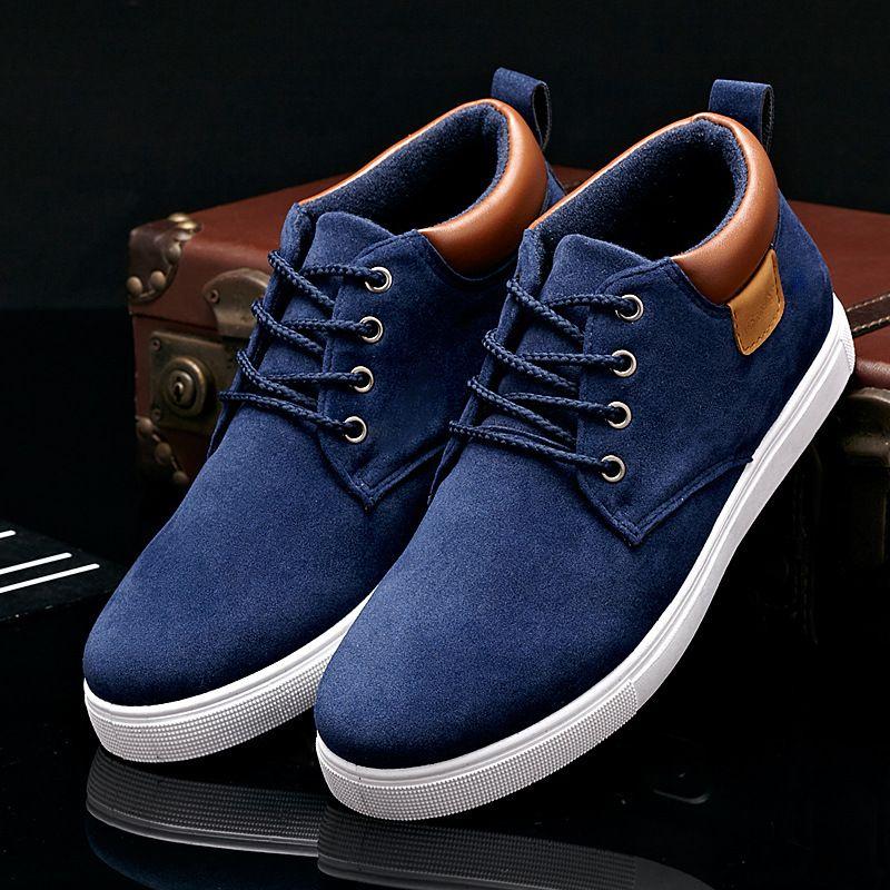 >>>Coupon Code2016 Men Shoes High Top Lace Up Men Casual