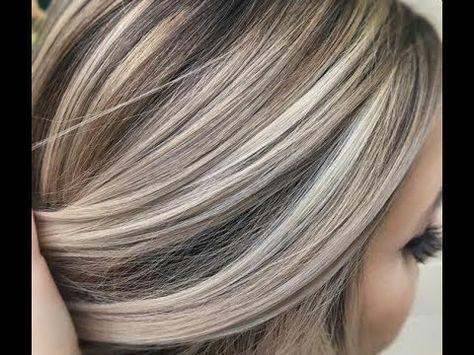 طريقة صبغ الشعر أشقر بلاتيني بالبيت فيديو تعليمي روعة و بطريقة سهلة Youtube Meches Blondes Couleur Cheveux Cheveux Lisse
