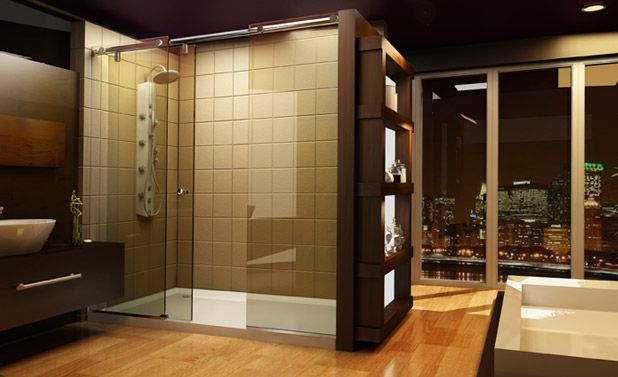 Three sided shower enclosure 760 x 760. Hard to find