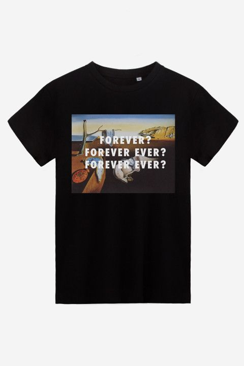ce8695396 Forever Forever Ever T-Shirt by Fly Art for Rad.co #humour #music ...