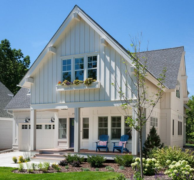 85 Modern Farmhouse Exterior Design Ideas Modern Farmhouse Exterior Cottage Paint Colors And