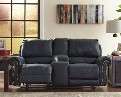 Cool Milhaven Power Reclining Loveseat With Console Products Gmtry Best Dining Table And Chair Ideas Images Gmtryco