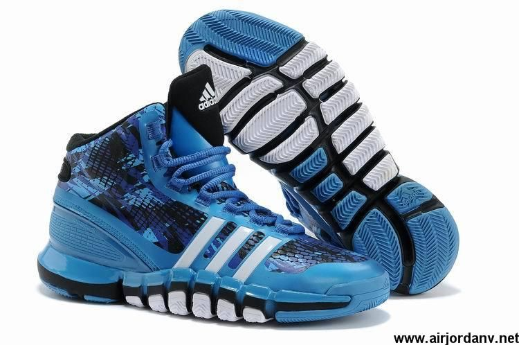 Buy Discount Collegiate Royal/White adidas adiPure Crazyquick Q33301 Shoes Store
