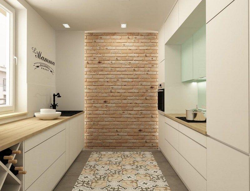 Plan de travail cuisine 50 id es de mat riaux et couleurs fils tuile et nature Carrelage ciment cuisine