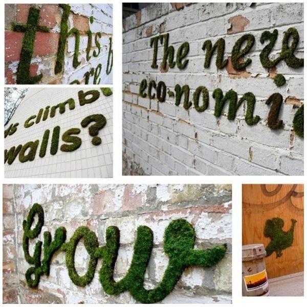 Moos Spray | Garden. | Pinterest | Ziegel, Gartenideen Und Draußen