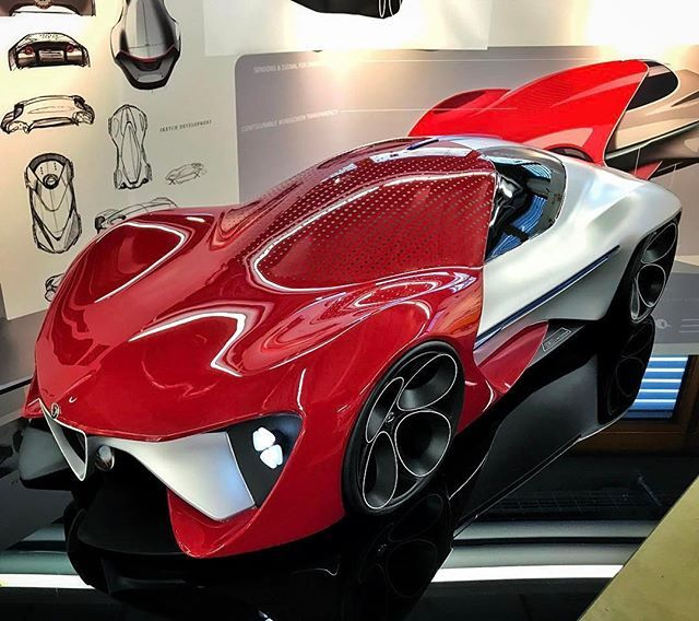 Alfa Romeo Thesis Project By Tobias