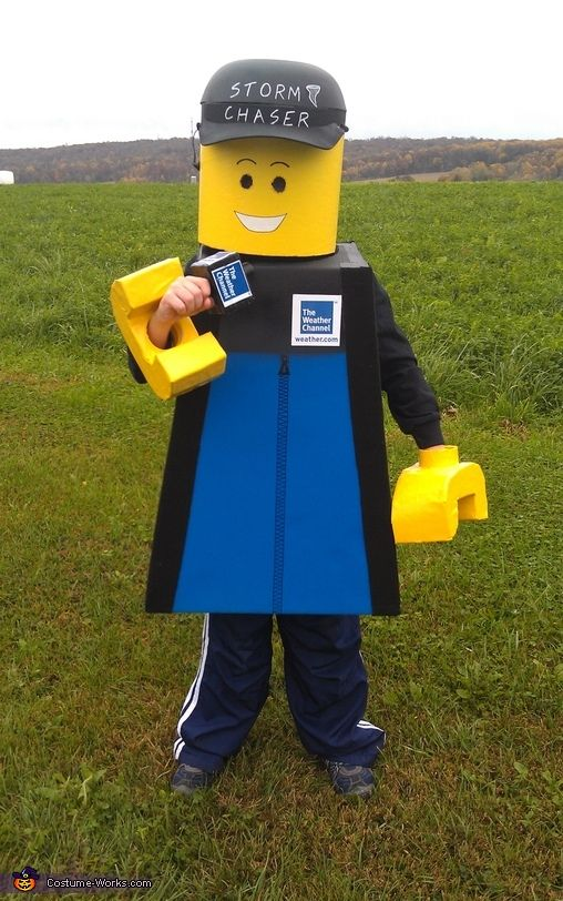 Lego Weather Man - Halloween Costume Contest at Costume-Works - 4 man halloween costume ideas